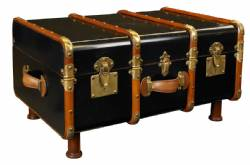 Stateroom Trunk Table Black